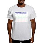HW Engineer vs. SW Engineer Light T-Shirt