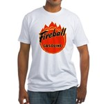 FIREBALL Gasoline Fitted T-Shirt