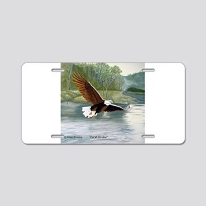 American Bald Eagle Flight Aluminum License Plate