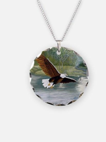 American Bald Eagle Flight Necklace