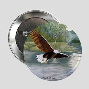 "American Bald Eagle Flight 2.25"" Button"