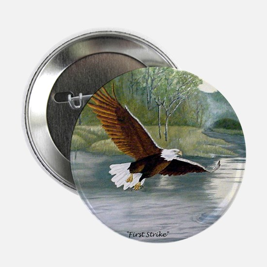 "American Bald Eagle Flight 2.25"" Button"