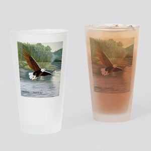 American Bald Eagle Flight Drinking Glass