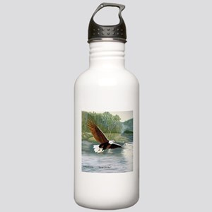 American Bald Eagle Flight Stainless Water Bottle