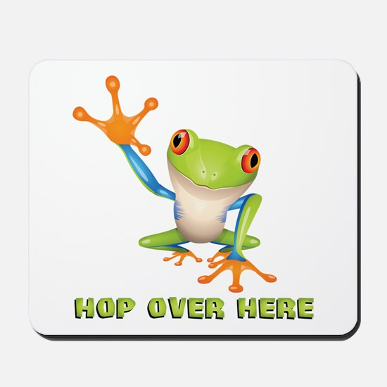 Hop Over Here Mousepad