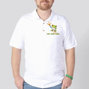 Hop Over Here Golf Shirt