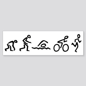 Triathelution Sticker (Bumper)