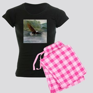 American Bald Eagle Flight Women's Dark Pajamas