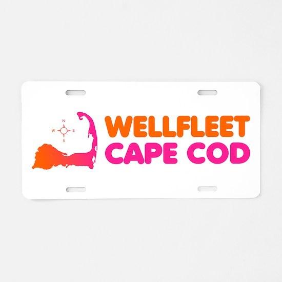 Wellfleet Cape Cod Aluminum License Plate