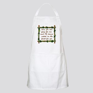 Naked Pagan Dance BBQ Apron
