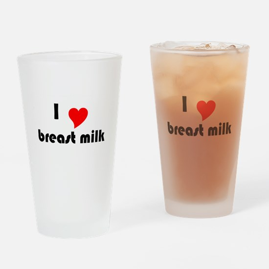 I (Heart) Breast Milk Pint Glass