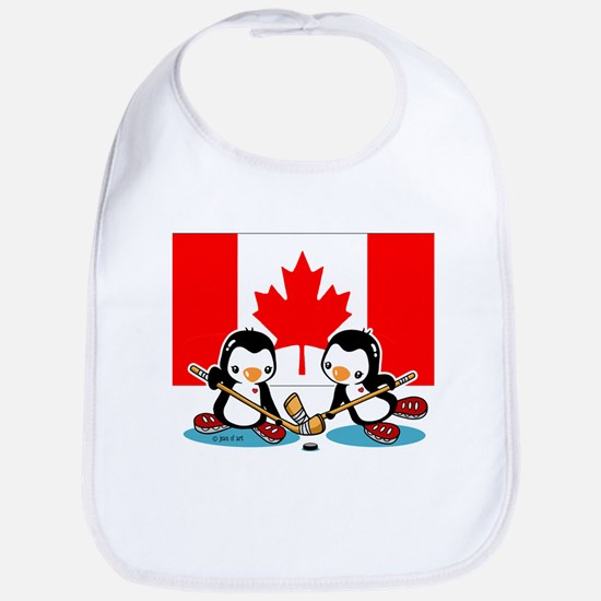 Cute Penguins Bib