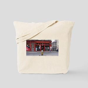 Elephant house Tote Bag