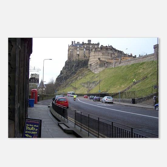 Edinburgh Castle, Scotland, U Postcards (Package o