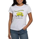 Personalized Bus Driver Women's Shirt