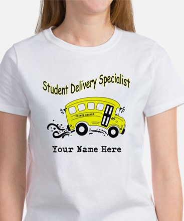 Personalized Bus Driver Women's Shirt