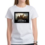 America: We will kill you in your Women's T-Shirt