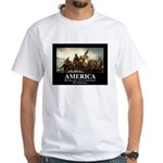 America: We will kill you in your sl White T-Shirt
