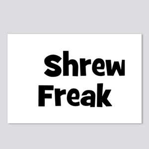 Shrew Freak Postcards (Package of 8)