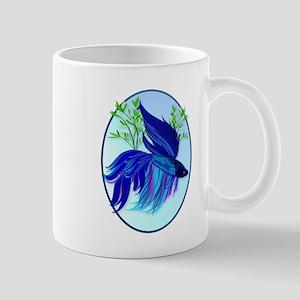 Big Blue Siamese Fighting Fis Mug