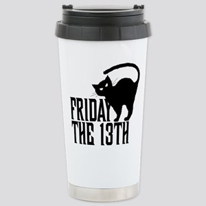 Friday the 13th Stainless Steel Travel Mug