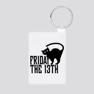 Friday the 13th Aluminum Photo Keychain