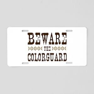 Beware the Colorguard Aluminum License Plate