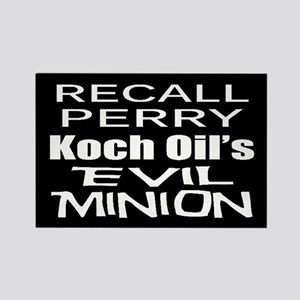 Recall Governor Rick Perry Rectangle Magnet