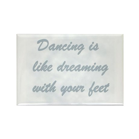 Dancing is like... Rectangle Magnet (10 pack)