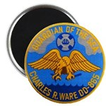 USS CHARLES R. WARE Magnet