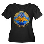 USS CHARLES R. WARE Women's Plus Size Scoop Neck D