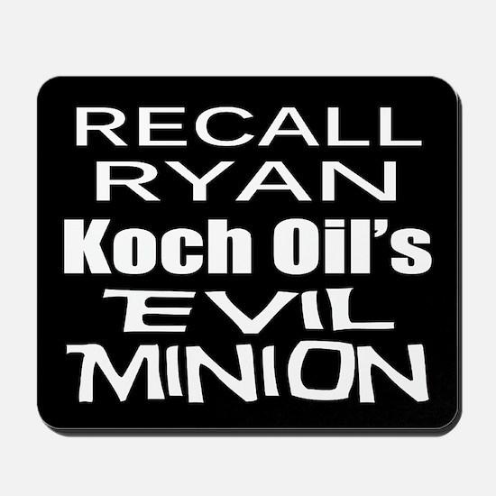 Recall House Rep Paul Ryan Mousepad