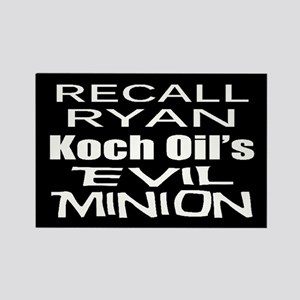Recall House Rep Paul Ryan Rectangle Magnet