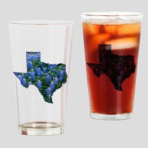 TX Bluebonnets Pint Glass