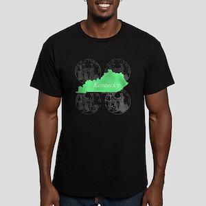 Kentucky Men's Fitted T-Shirt (dark)