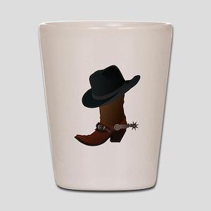 Cowboy Boot Shot Glasses - CafePress ef0852f44100