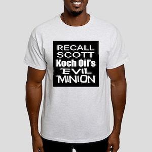 Recall Governor Rick Scott Light T-Shirt