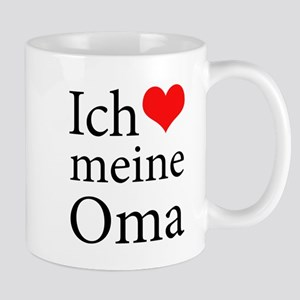 I Love Grandma (German) Mug