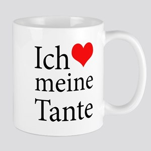 I Love Aunt (German) Mug