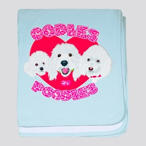 OODles of Poodles mass baby blanket