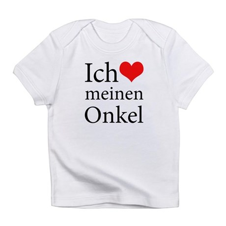 I Love Uncle (German) Infant T-Shirt