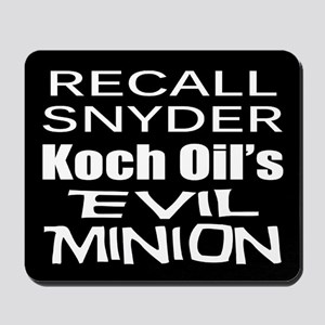 Recall Governor Rick Snyder Mousepad