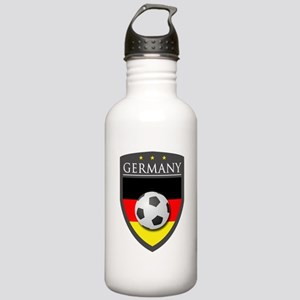 Germany Soccer Patch Stainless Water Bottle 1.0L