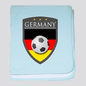 Germany Soccer Patch baby blanket