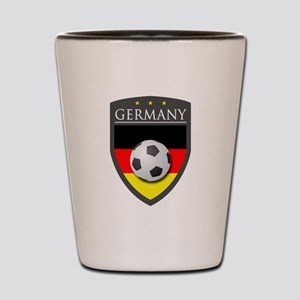 Germany Soccer Patch Shot Glass