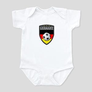 Germany Soccer Patch Infant Bodysuit