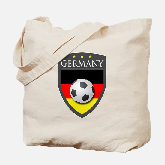 Germany Soccer Patch Tote Bag