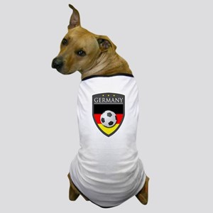 Germany Soccer Patch Dog T-Shirt