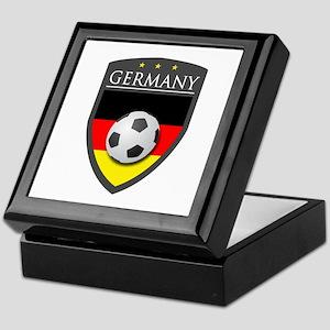 Germany Soccer Patch Keepsake Box