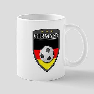 Germany Soccer Patch Mug
